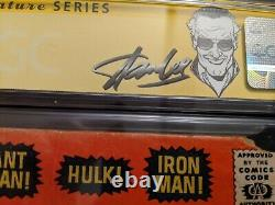 Avengers #1 CGC 3.0 Signature Series Origin of The Avengers SIGNED BY STAN LEE