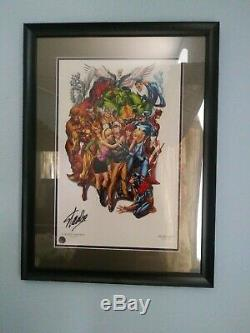 Avengers #1 SDCC Campbell Signed Stan Lee Hologram COA Better than CGC