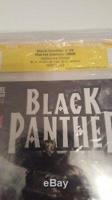 Black Panther 35 not CGC/ EGS 8.5 signed by Stan Lee/ just 5 signed copies