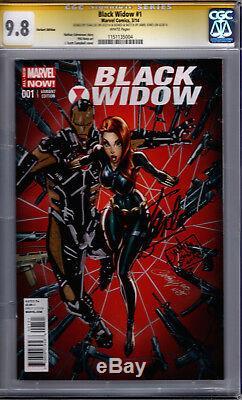 Black Widow #1! CGC SS 9.8! Signed by Stan Lee! Sketch & Sig by Jamie Jones