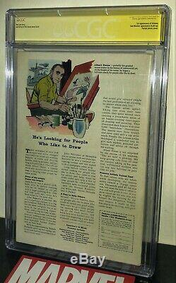 CGC 5.0 ss signed Stan Lee Fantastic Four 33 UNPRESSED 1st Attuma Submariner Vil