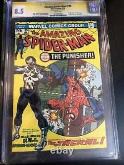 CGC 8.5 Amazing Spider-Man #129 First Appearance Punisher STAN LEE SIGNED
