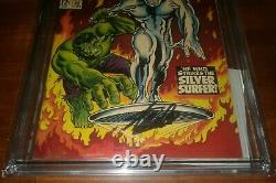 CGC 9.4 Tales to Astonish # 93 (7/67) Hulk Silver Surfer Stan Lee signed 4/23/17