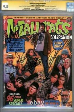 CGC SS 9.8 Mallrats Companion #NN sign by Kevin Smith Stan Lee Ben Affleck +5