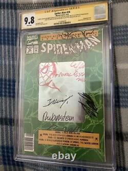 CGC Spider-Man #26 Signed 6X & Sketched 2X. Stan Lee, Texeira, De La Rosa, 9.8
