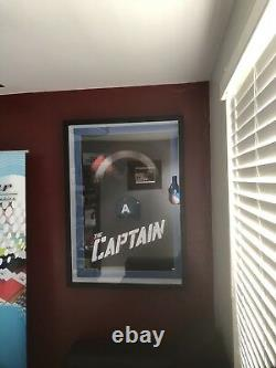 Captain America Signed Stan lee With COA Spider-Man Marvel