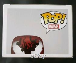 Carnage Funko Pop Signed By Stan Lee With COA Sticker Of Authenticity