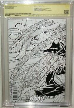 Cbcscgc Ss 9.8 Amazing Spider-man #700 Signed Stan Lee Quesada Sketch Variant