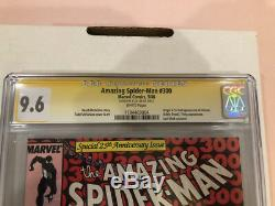 Cgc 9.6 Signature Amazing Spider-man #300 Stan Lee Signed 1st Venom Asm