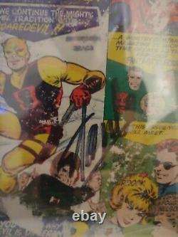 Daredevil 1 (1964) CGC Signed Stan Lee, Origin & 1st appearance Daredevil