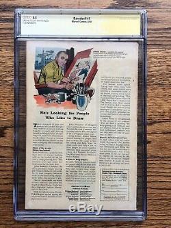 Daredevil #1 CGC 4.5 1964 Silver Age Key! 1st app Daredevil signed by Stan Lee