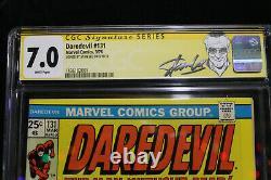 Daredevil #131 CGC 7.0 STAN LEE SIGNED! (Marvel) HIGH RES SCANS