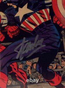 Daredevil #43 Cgc 7.0 Ss Signed Stan Lee Daredevil Vs Captain America Classic