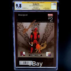 Deadpool #2 Hip Hop Variant Cgc 9.8 Signed Stan Lee Liefeld Hawthorne 1100