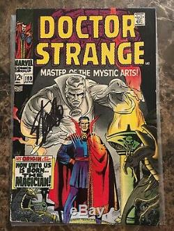Doctor Strange #169 Signed by Stan Lee, First Solo Appearance Condition VG/FN