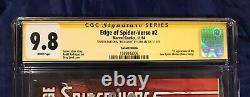 Edge of Spider-Verse #2 CGC SS 9.8 SIGNED, INSCRIBED, & SKETCH by Stan Lee RARE