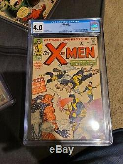 FANTASTIC FOUR #1 CGC 3.5, amazing spiderman #1 cgc 1.5 s. S. Stan Lee, x-men 1