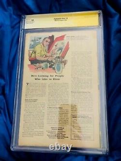 FANTASTIC FOUR #4 CGC 3.0 SIGNED STAN LEE first SUB-MARINER Super Key Book