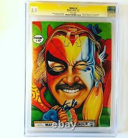 FOOM #17 STAN LEE cover Signed By Stan Lee 1977 KISS Preview RARE CGC 5.5