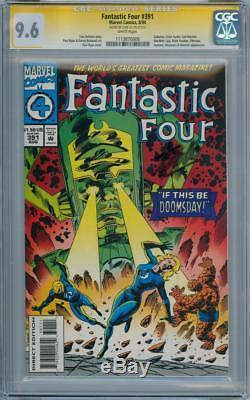 Fantastic Four #391 Cgc 9.6 Signature Series Stan Lee Galactus Silver Surfer
