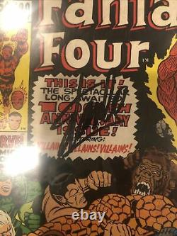 Fantastic Four Comic #100 Signed Stan LEE