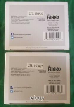 Funko Pop! Stan LeeGoldSilverExclusive Edition Signed Set Rare Metallic Mint