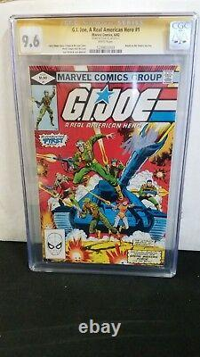 G. I. Joe #1 Cgc 9.6 Ss Signed Stan Lee White Pages