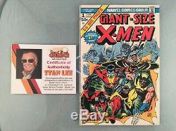Giant-Size X-Men 1 1975 SIGNED by Stan Lee 1st New X-men