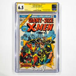 Giant Size X-Men #1 CGC SS 6.5 FN+ Signed by Stan Lee & Len Wein Marvel