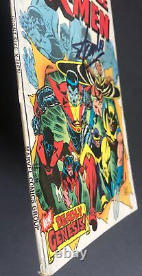 Giant Size X-Men #1 Signed by Stan Lee 1st New X-Men 2nd Full Wolverine 1975