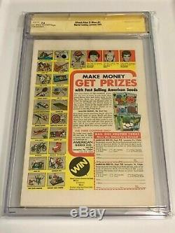 Giant Size X-Men (1975) 1 CGC 7.0 OWithW SS Stan Lee signed HOT KEY comic book