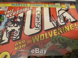 Hulk 181 CGC Signed Stan Lee, Herb Trimpe, Len Wein, John Romita with 2 sketches