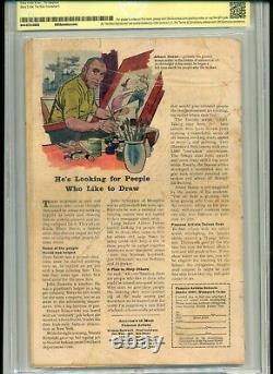 Incredible Hulk #1 Cbcs Graded 2.5 1962 Marvel Witnessed Signed By Stan Lee Cgc