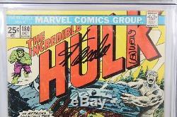 Incredible Hulk #180 CGC SS 4.5 1st Wolverine Signed (2X) Stan Lee & Len Wein