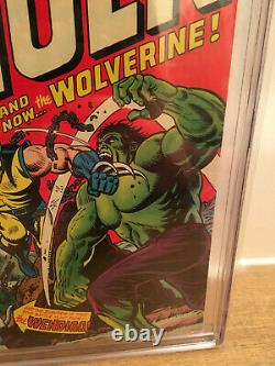 Incredible Hulk #181 Vol 1 CGC 9.0 SS Signed by Stan Lee