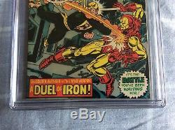 Iron Fist 1 Cgc 9.4 signed by Stan Lee and Chris Claremont Not Cgc 9.8