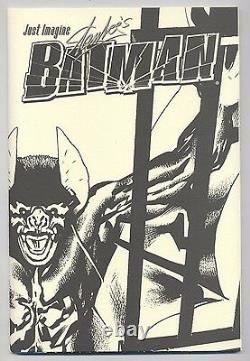JUST IMAGINE BATMAN MUSEUM EDITION signiert / signed STAN LEE 500 Ex. TOP