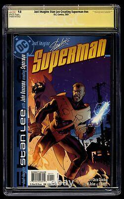 Just Imagine Stan Lee Creating Superman #0 CGC NM/M 9.8 Stan Lee Signed SS