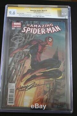 Marvel AMAZING SPIDER-MAN #1 STAN LEE & Neal Adams signed