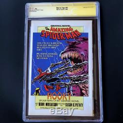 Marvel Age #41 (1986) Signed By Stan Lee Cgc 9.6 Ss Photo Cover