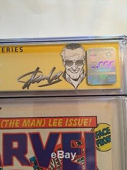 Marvel Age 41 Cgc 9.6 Signed By Stan Lee