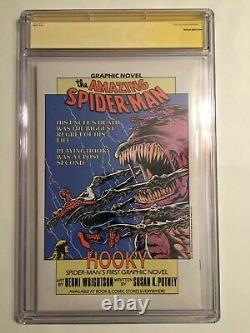 Marvel Age 41 Cgc 9.8 Signed By Stan Lee