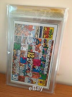 Marvel Age #90 CGC 9.2 Signed Stan Lee Todd McFarlane, Jim Lee Interview