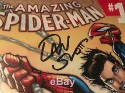 Marvel Amazing Spider-Man #1 CGC Graded 9.2 SS Signed x2 by Stan Lee & Dan Slott