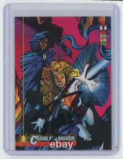Marvel Cards Cloak And Dagger #78 Signed By Stan Lee