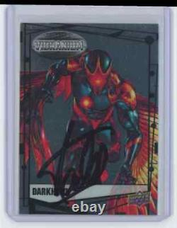 Marvel Cards Dark Hawk Signed Autographed By Stan Lee
