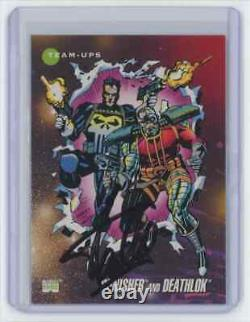 Marvel Cards Punisher And Deathlok #86 Signed Autographed By Stan Lee