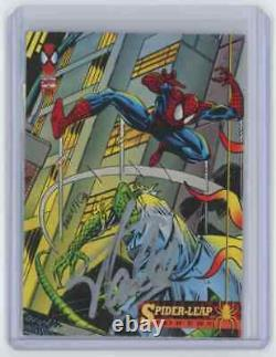 Marvel Cards Spider Leap Powers Signed Autographed By Stan Lee