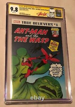 Marvel Comics True Believers Ant-Man and the Wasp #1 Stan Lee Signed CGC 9.8