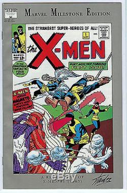 Marvel Milestone X-Men #1 Stan Lee Signed LTD Comic COA 1991 S2